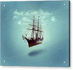 Sailed Away Acrylic Print