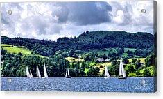 Sailing In Heaven Acrylic Print