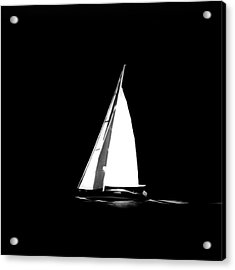 Sailing In The Night Acrylic Print