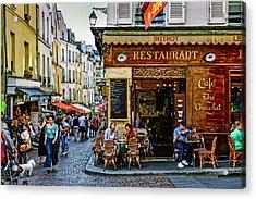 Saint Medard District In Paris, France Acrylic Print