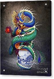 Sake Dragon Acrylic Print