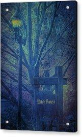 Salem Massachusetts  Witch House Acrylic Print