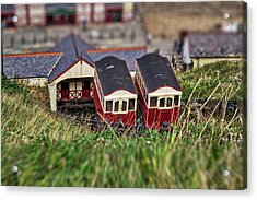 Acrylic Print featuring the photograph Saltburn Tramway by Scott Lyons