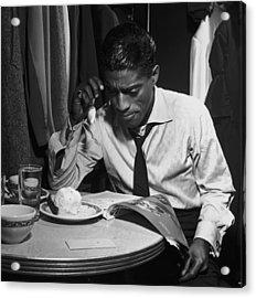 Sammy Davis Jnr Acrylic Print by Archive Photos