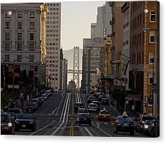San Francisco Top California Travel Acrylic Print by George Rose