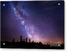 Acrylic Print featuring the photograph San Gimignano Stars by Scott Kemper