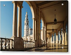 Sanctuary Of Fatima, Portugal Acrylic Print