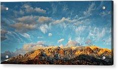 Sandia Gold, Sandia Mountain, Albuquerque, Nm Acrylic Print