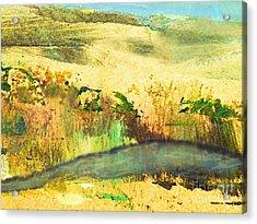 Sandy Landscape Acrylic Print
