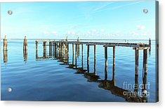 Sanford Abandoned Dock-1628 Acrylic Print