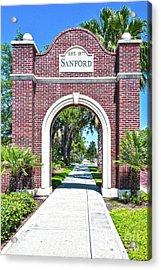 Sanford Arch-8010 Acrylic Print