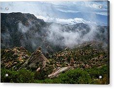 Santa Catalina Clouds Acrylic Print
