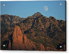 Santa Rita Moonrise Acrylic Print