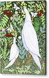 Sapientes Pacis Birds Acrylic Print