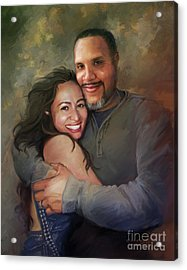 Sara And Ahmed Acrylic Print