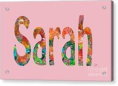 Sarah Acrylic Print