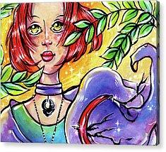 Sarahfina Sun Acrylic Print