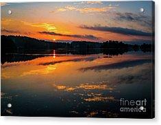 Savannah River Sunrise - Augusta Ga 2 Acrylic Print