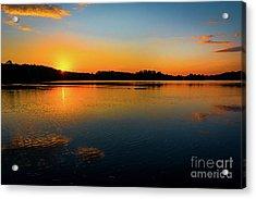 Savannah River Sunrise - Augusta Ga Acrylic Print