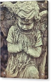 Say A Little Prayer Acrylic Print by JAMART Photography
