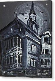 Scary Old House Acrylic Print
