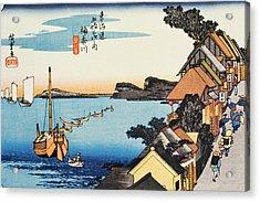 Scenery Of Kanagawa In Edo Period Acrylic Print