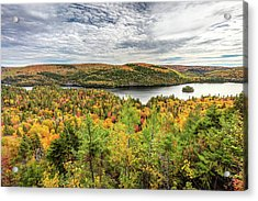 Acrylic Print featuring the photograph Scenic Autumn Landscape by Pierre Leclerc Photography