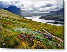 Scenic View Of The Lake And Mountains Acrylic Print