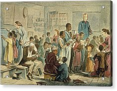 School For Slaves Acrylic Print by Fotosearch