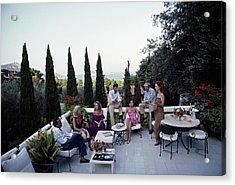 Scio Guests Acrylic Print