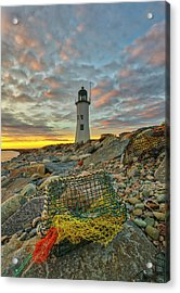 Acrylic Print featuring the photograph Scituate Lighthouse by Juergen Roth