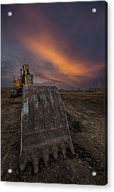 Acrylic Print featuring the photograph Scoop by Aaron J Groen