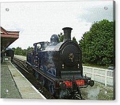 Scotland. Aviemore. Strathspey Railway. Acrylic Print