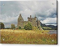 Scotland. Loch Awe. Kilchurn Castle. Acrylic Print
