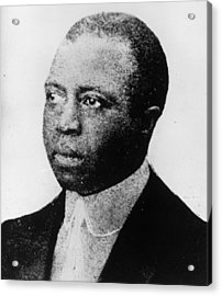 Scott Joplin Acrylic Print by Hulton Archive