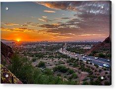 Scottsdale Sunset Acrylic Print