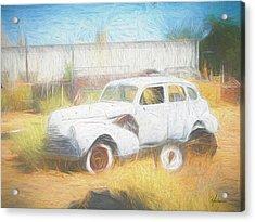Scrap Car Vii Acrylic Print