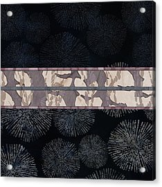 Sea Urchin Contrast Obi Print Acrylic Print