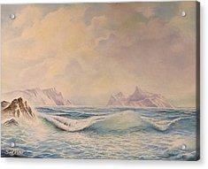 Sea Waves Acrylic Print