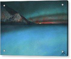 Searching For Flying Fish Acrylic Print by Robin Street-Morris