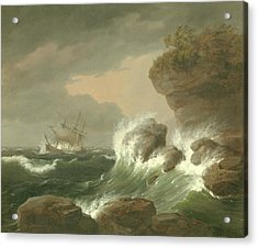 Seascape, 1835 Acrylic Print