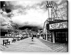 Seaside Heights Before The Crowds Acrylic Print