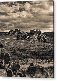 Sedona - View From The Airport Trail 2 Acrylic Print