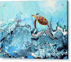See Turtle Acrylic Print