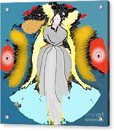 Seeing Angels Acrylic Print