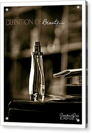 Sepia Definition Of Beauty Acrylic Print
