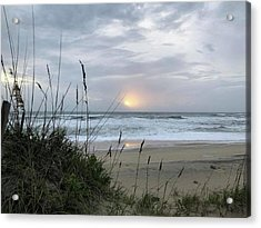 Acrylic Print featuring the photograph Sept. 14, 2018 Sunrise  by Barbara Ann Bell
