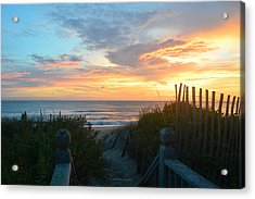 Acrylic Print featuring the photograph September 28, 2018 Sunrise Nh  by Barbara Ann Bell