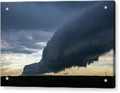 Acrylic Print featuring the photograph September Thunderstorms 003 by NebraskaSC
