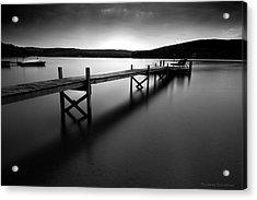 Serenity On The Lake Acrylic Print